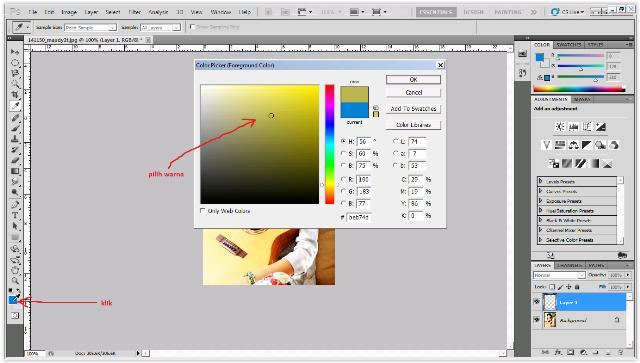 Tutorial Terbaru Cara Mengedit Efek Foto Vintage Dengan Menggunakan Adobe Photoshop