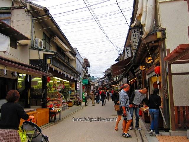 Japan Trip : Miyajima old street