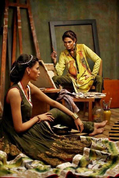 Nida Azwer Eid Dress Collection 2014