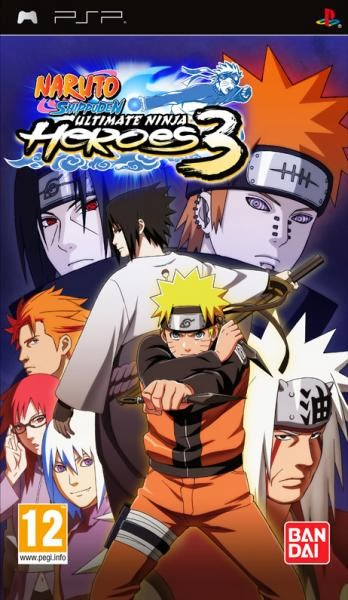 Download Game Rom Psp Naruto Shippuden Ultimate Ninja Heores 3 Iso Cso single link