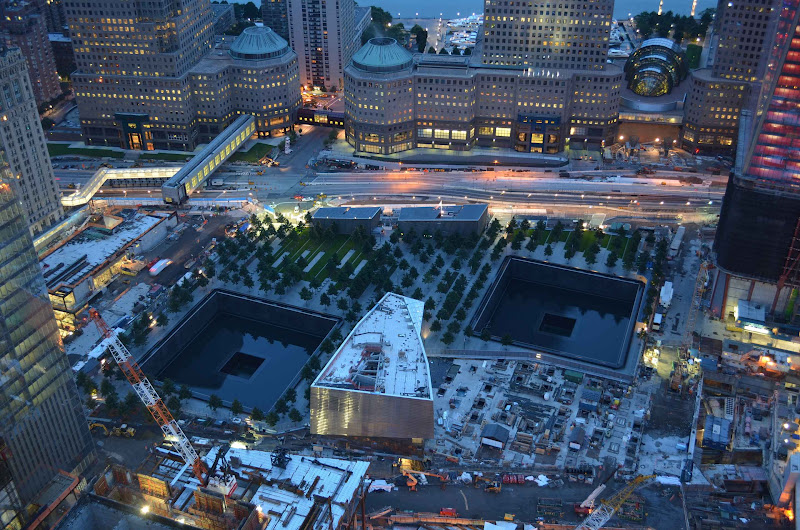 What ground zero looks like today