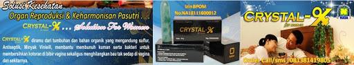Obat keputihan, Crystal-X | Solusi kewanitaan | Keputihan | Bau tidak sedap | Gatal-gatal