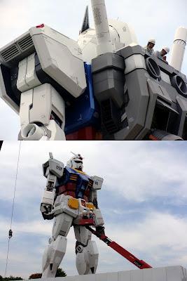 Gundam em obras