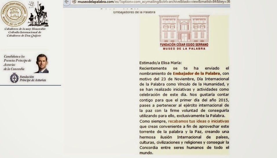 Museo de la Palabra/Fundación César Egido Serrano