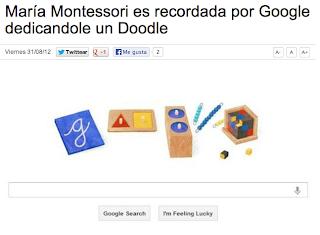 María Montessori y La Escuela Montessori