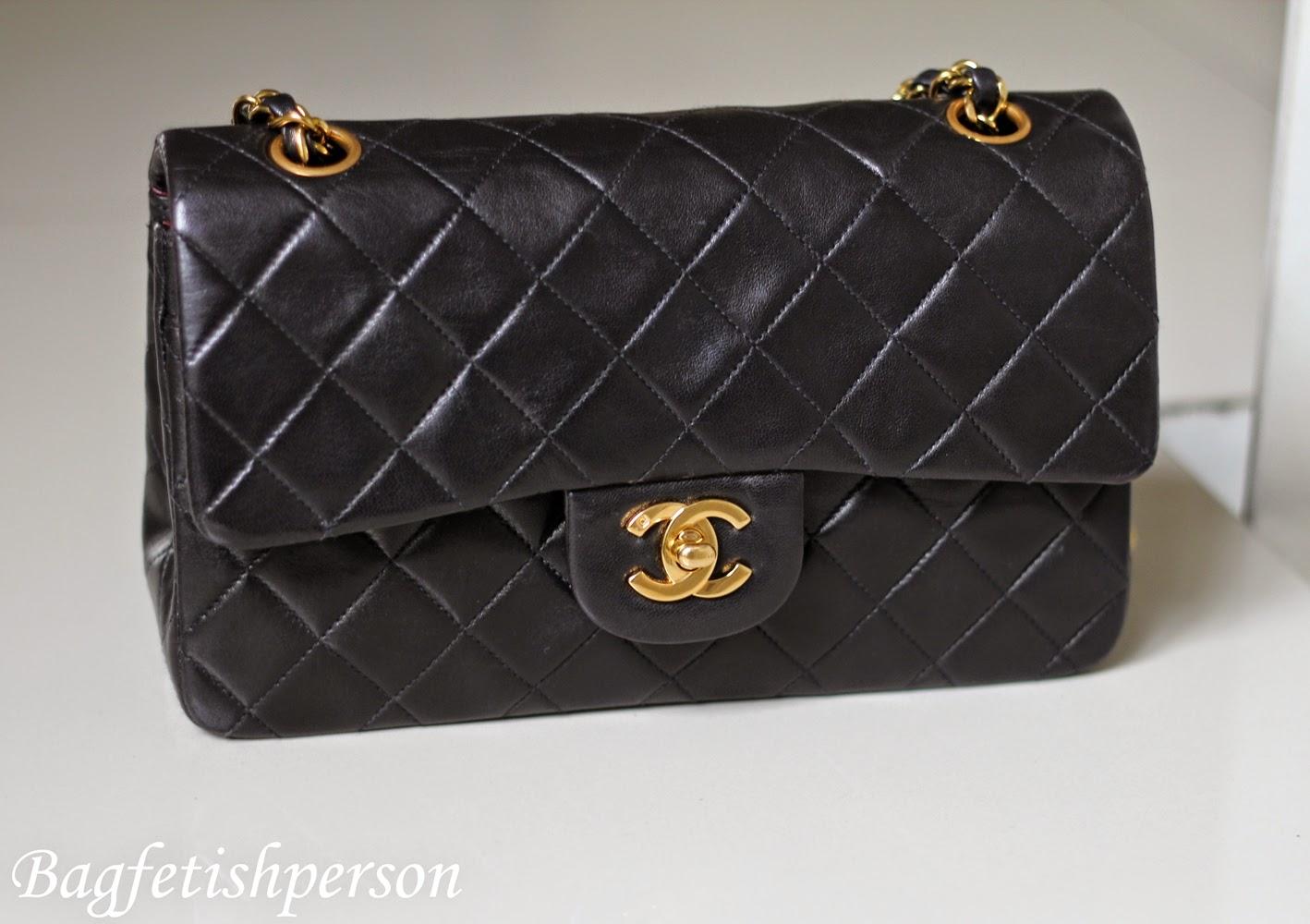 Bagfetishperson chanel vintage flap bag - Vintage chanel ...