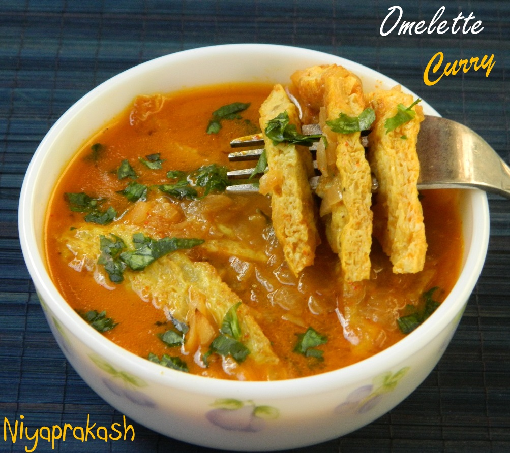 Niya's World: Omelette Curry