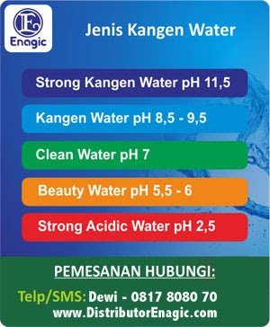 Produsen Beauty Water, Kangen Water, Air Kangen