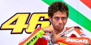 Valentino Rossi Ducati Ke yamaha