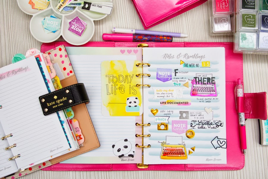 Happiness is scrappy planners how to make your own for Create your own planner online