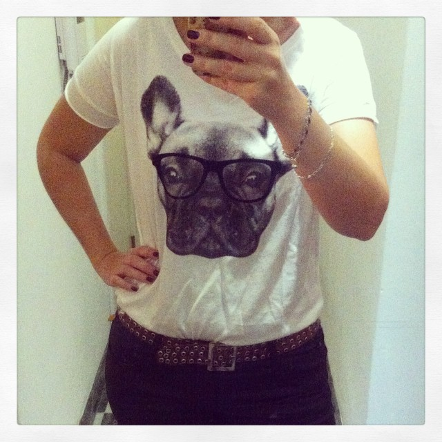 ootd t shirt bouledogue