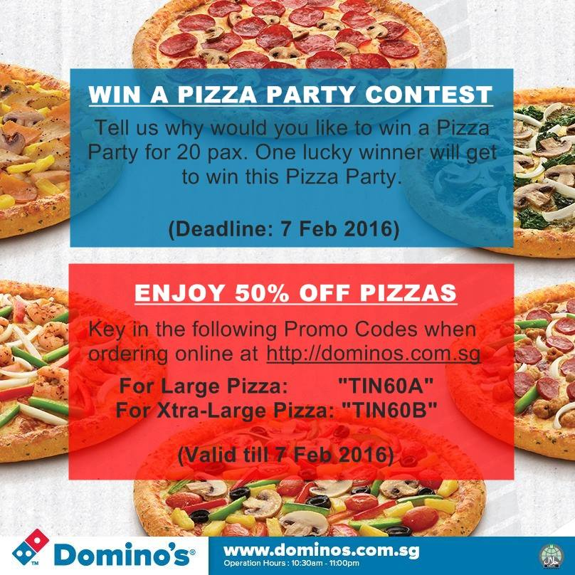 Dominos discount coupon today