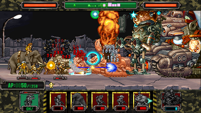 METAL SLUG ATTACK MOD APK v1.17.0 Update Mod Unlimited AP + Hack and Cheat Free