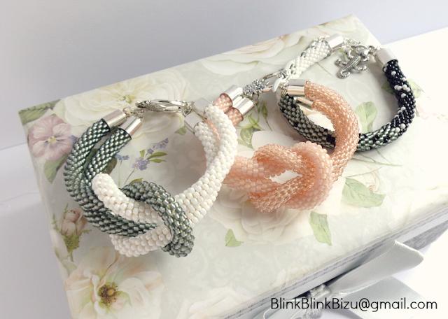 bransoletki z koralików handmade, bransoletki z koralikow handmade, bransoletka z koralikow szydelko