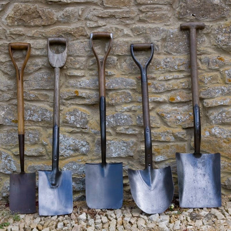 Modern Country Vintage Garden Tools
