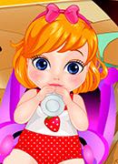 Малышка День Валентина - Онлайн игра для девочек