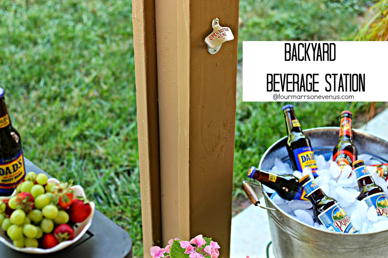 Backyard Beverage Station