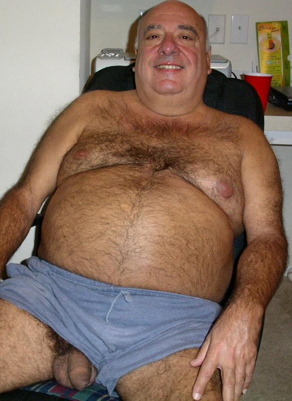 толстый старик фото