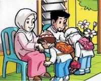 Berbhakti kepada orang tua