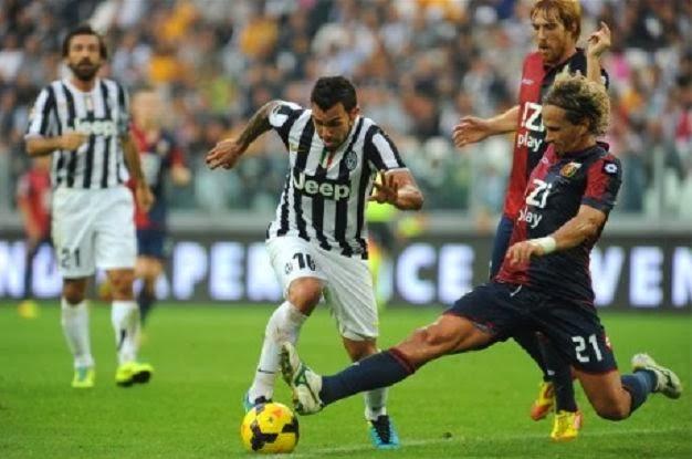 Juventus vs Genoa 2-0 Serie A Italian