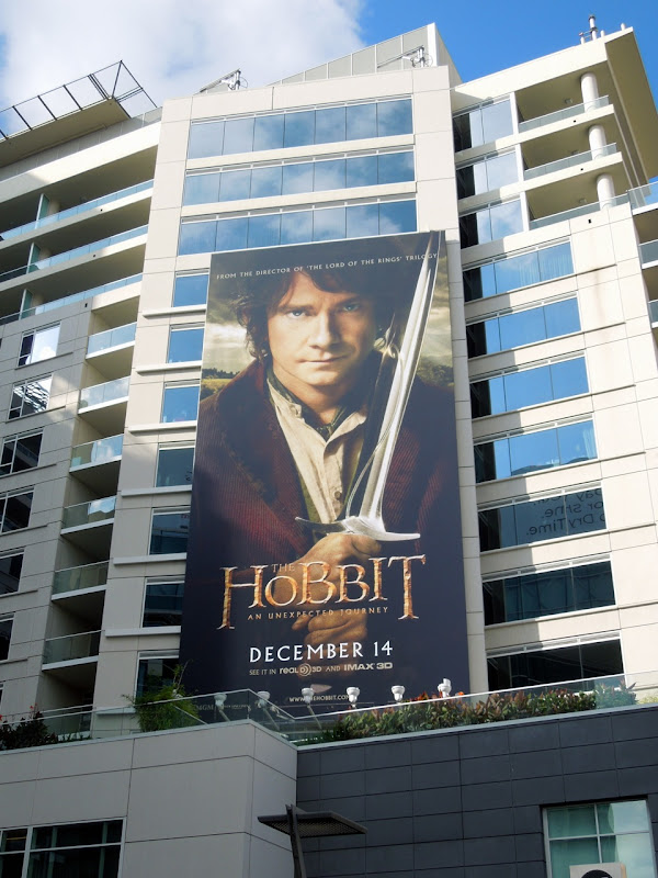 Hobbit An Unexpected Journey billboard