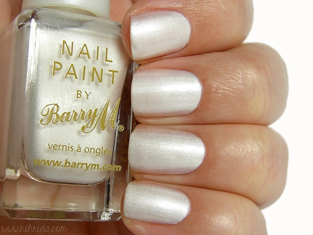 Barry M Silk Nail Effects in Pearl