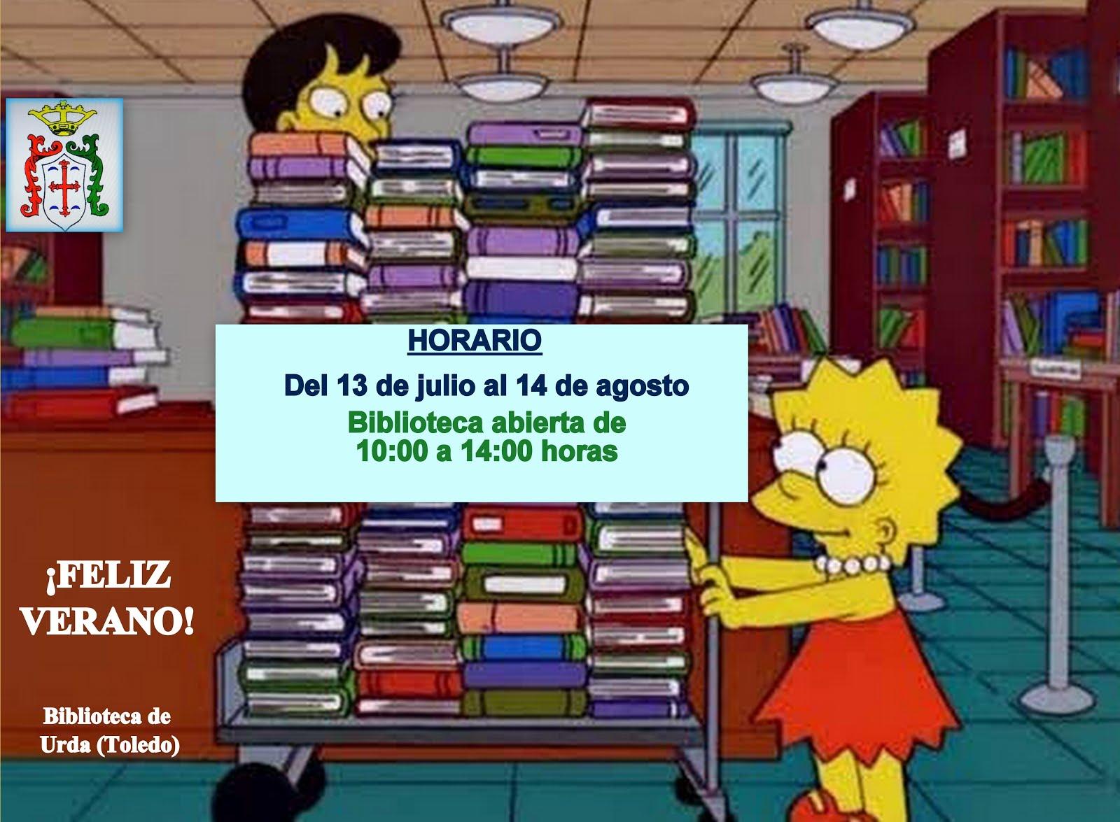 HORARIO DEL 13 DE JULIO al 14 de AGOSTO