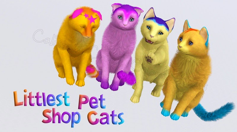 my sims 3 blog littlest pet shop cats by calista
