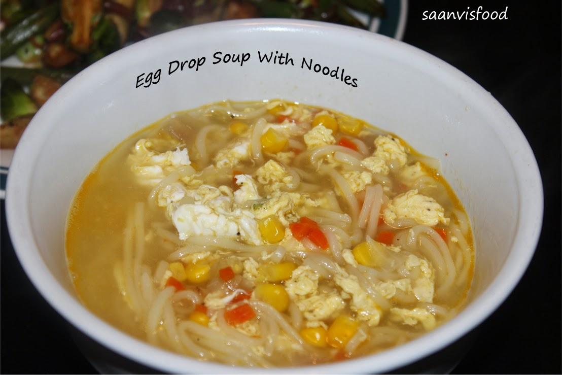 Egg Drop Soup With Noodles