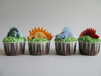 dino different! #cupcakes