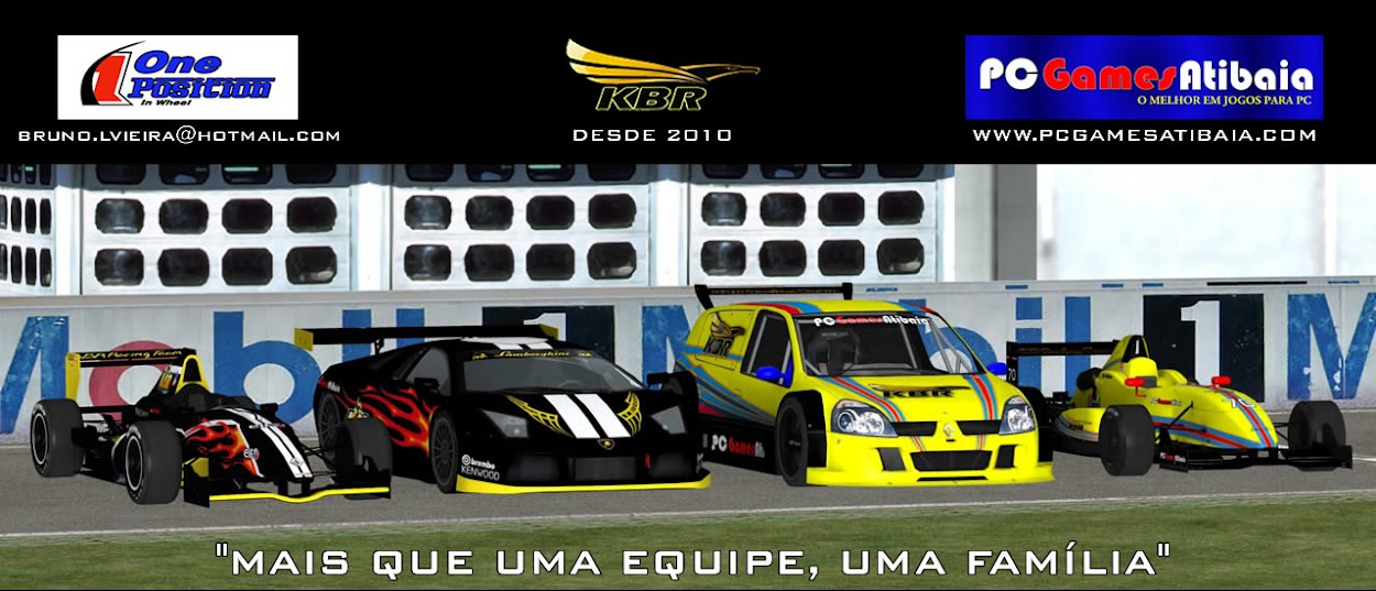 KBR RACING TEAM - Automobilismo Virtual