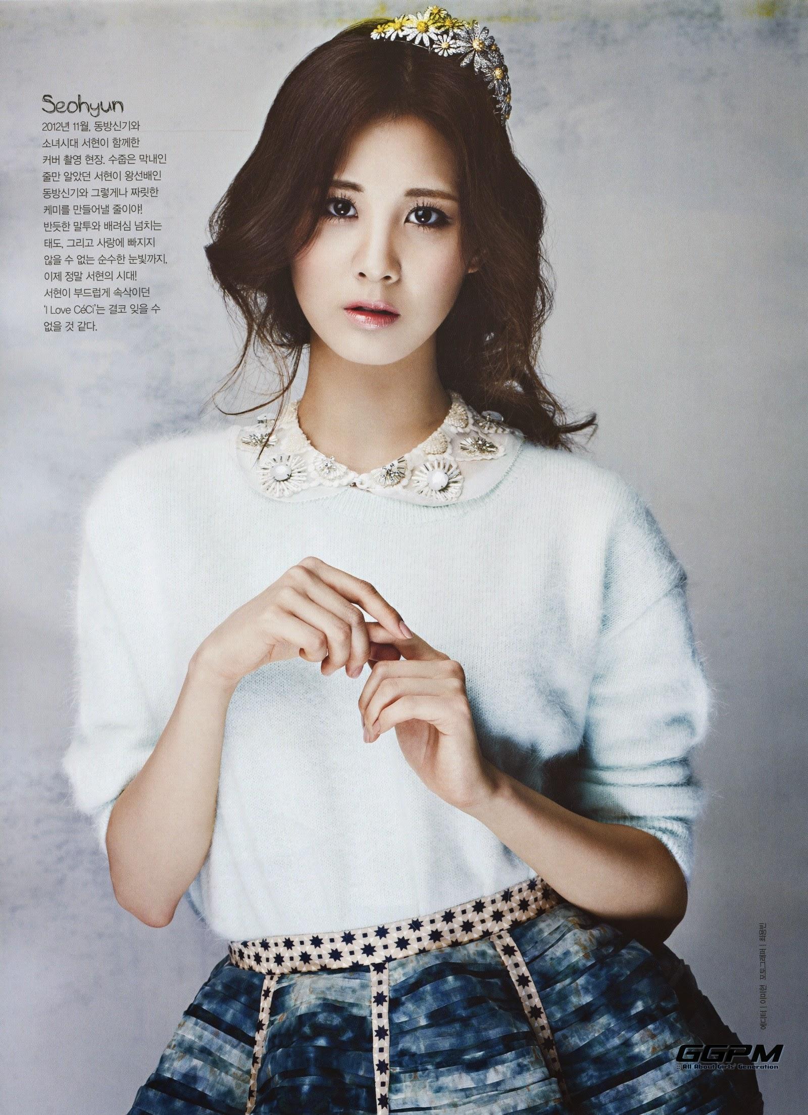 Seohyun Ceci Korea October 2014