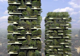 Bosco Verticale | Vertical Forest building in Milan, Italy