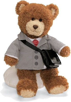 Gund, businessman teddy bear