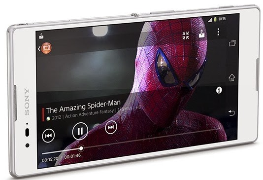 Specifications Sony Xperia T2 Ultra, Phablet with 6 inches Screen