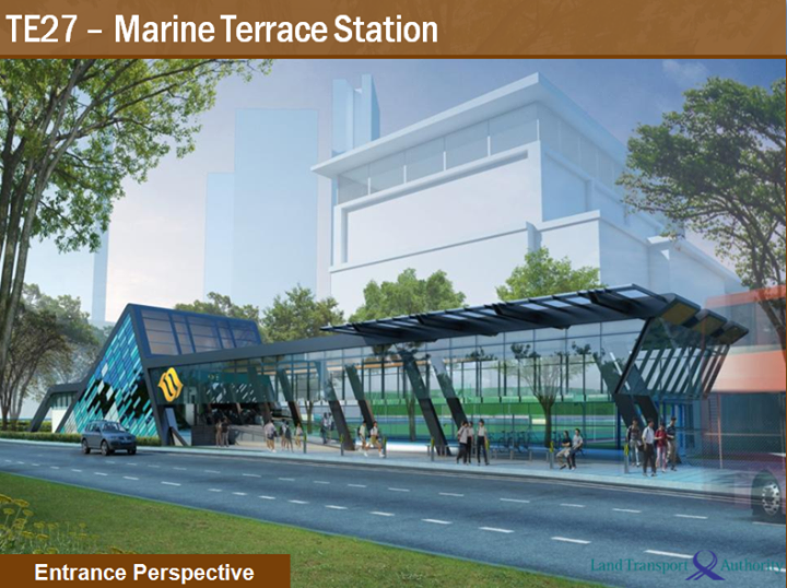 East coast line construction t308 marine terrace t303 for 6 marine terrace