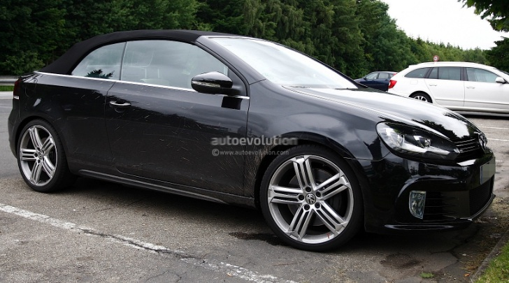 spyshots vw golf r cabriolet. Black Bedroom Furniture Sets. Home Design Ideas