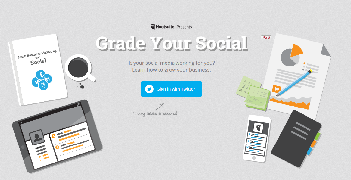 Grade Your Social with Hootsuite Twitter Analytics Tool
