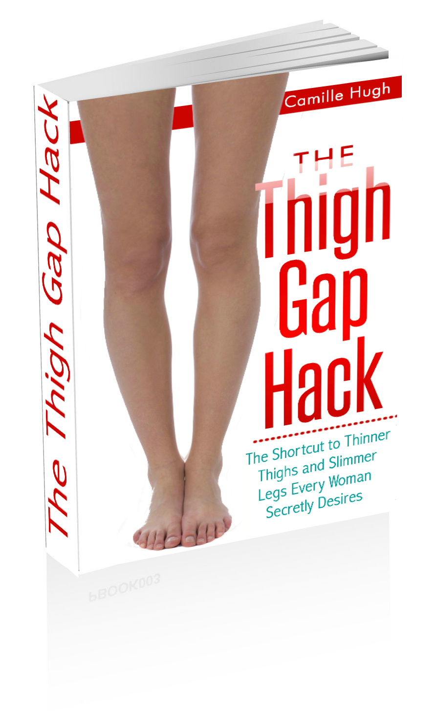 Hot to Get a Thigh Gap and Skinny Legs - even with narrow hips (without starving!)