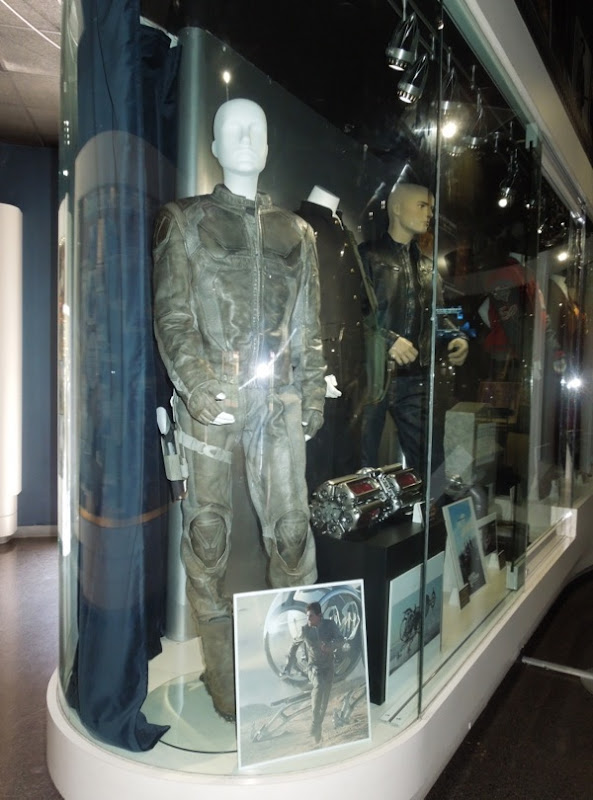Oblivion movie costume prop exhibit