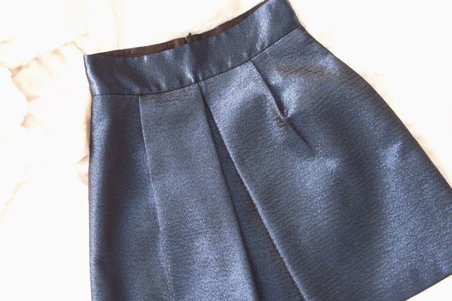 #zara #blue #skirt #sales