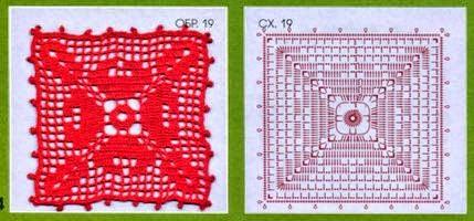 10 patrones de squares