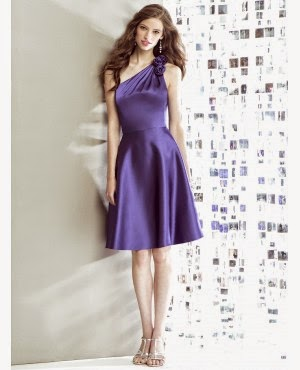 Vestidos Cortos, Color Purpura