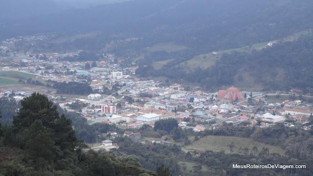 Urubici, vista do Mirante do Avencal
