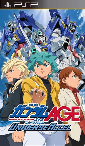 Download Kidou Senshi Gundam AGE: Universe Accel  - PSP Game Billionuploads/180upload/Upafile Link