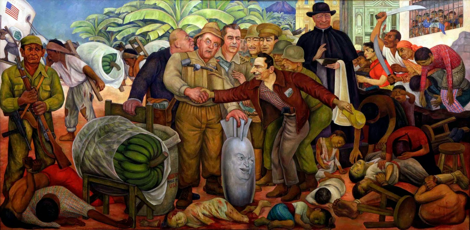 Jose antonio bru blog el muralista diego rivera la for Diego rivera s mural