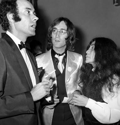 Victor Spinetti, John Lennon, Yoko Ono