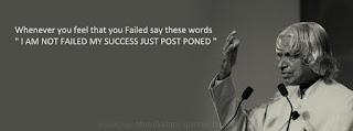 Success Quotes by Abdul Kalam
