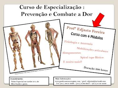 Curso de Especialização : Prevenção e Combate a Dor.