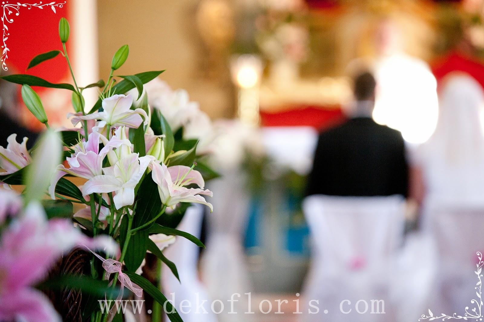 Dekoracje I Bukiety ślubne Opolskie ślubna Dekoracja Kościoła Mbb